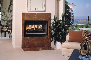 Superior SSDVST Direct Vent See-Thru Fireplace
