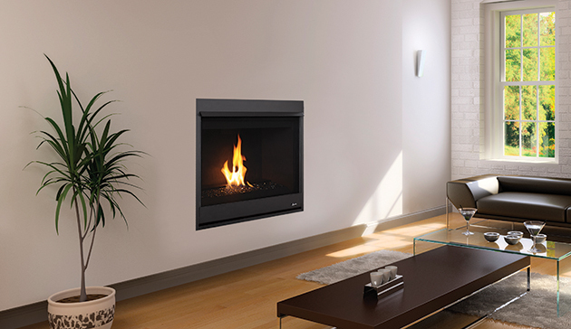 Superior Drc20 Contemporary Direct Vent Gas Fireplace