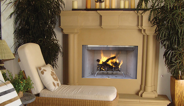Superior WRE3800 Outdoor Wood Burning Fireplaces with PureFire