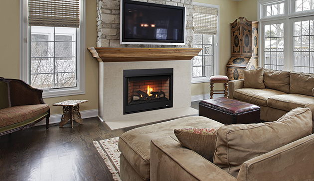 Superior Drt20 Direct Vent Gas Fireplace