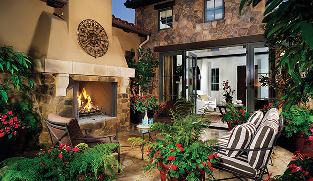 Superior WRE4800 Outdoor Wood Burning Fireplaces with PureFire