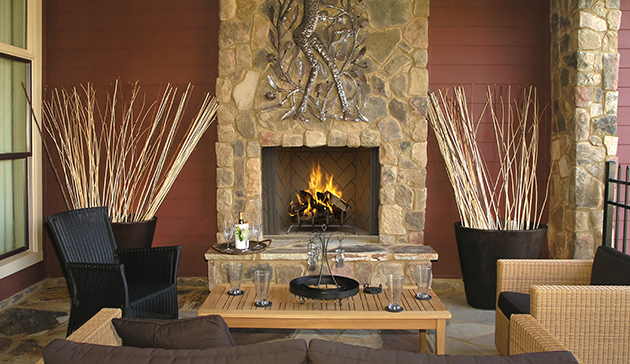 Superior Wre6000 Masonry Outdoor Wood Burning Fireplaces