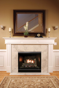 Tahoe Deluxe Clean Face Direct Vent Fireplaces