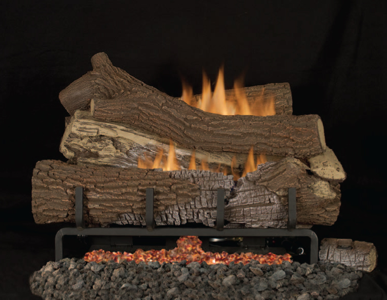 fmi giant timbers vent free gas logs