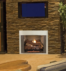 Vantage Hearth Full View Outdoor Stainless Steel Firebox