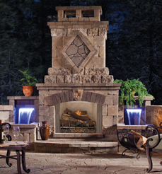 Vantage Hearth Sagamore Outdoor Stainless Vent Free Firebox
