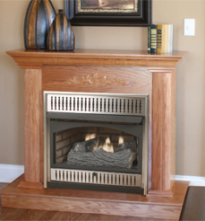 Vantage hearth compact classic hearth vent free fireplaces for Vantage hearth