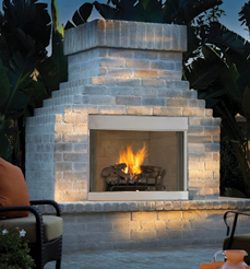 Vantage Hearth Performance Odyssey Outdoor Stainless Vent Free Fireplaces