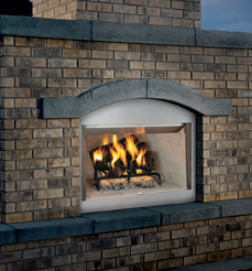 Vantage Hearth Performance Laredo Outdoor Stainless Wood Fireplaces