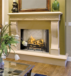 Vantage Hearth Premium Traditional Wood Fireplaces