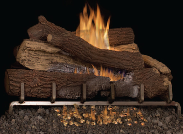 Superior Giant Timbers Outdoor Vent Free Gas Logs
