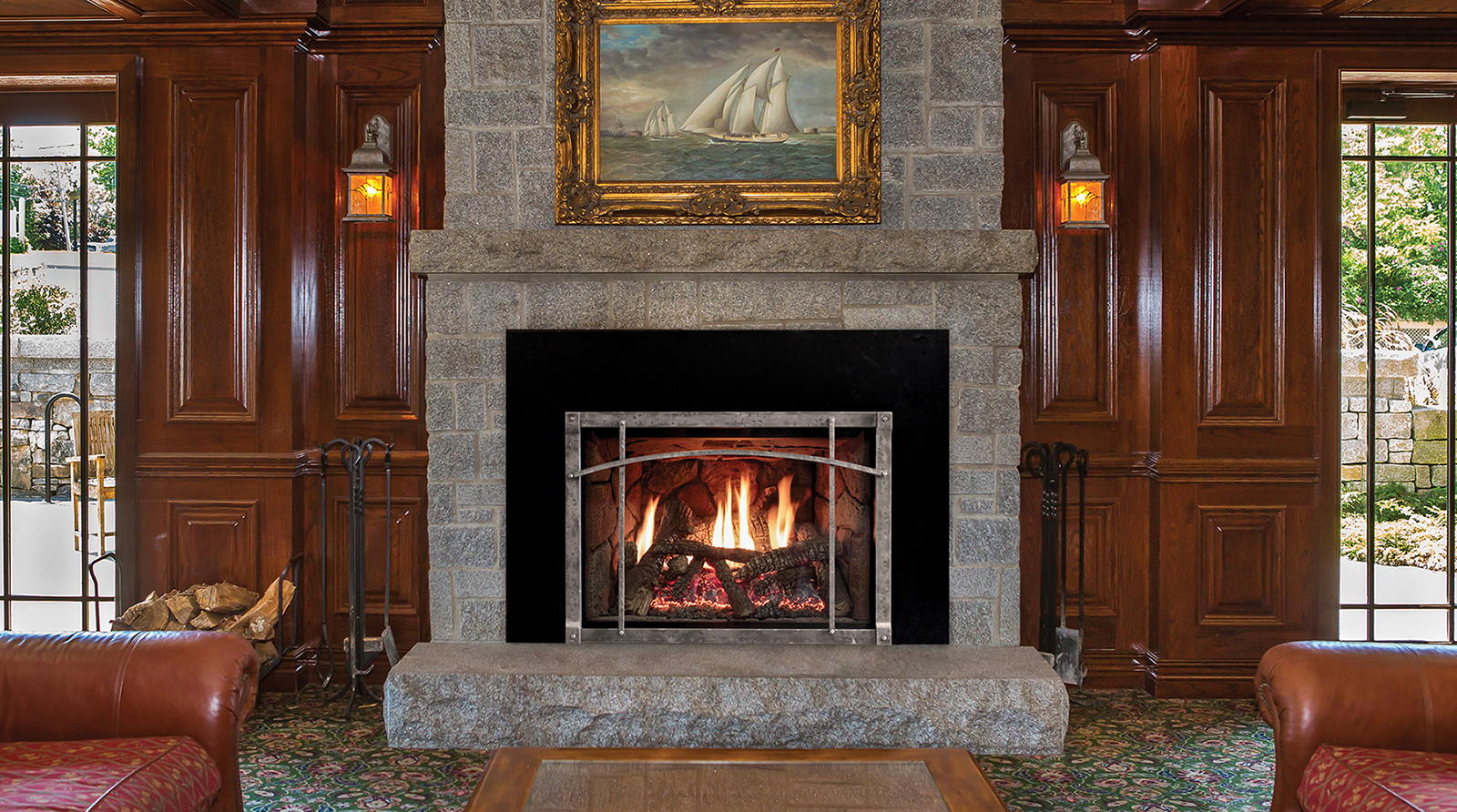 Rushmore Tru Flame Direct Vent Fireplace Inserts