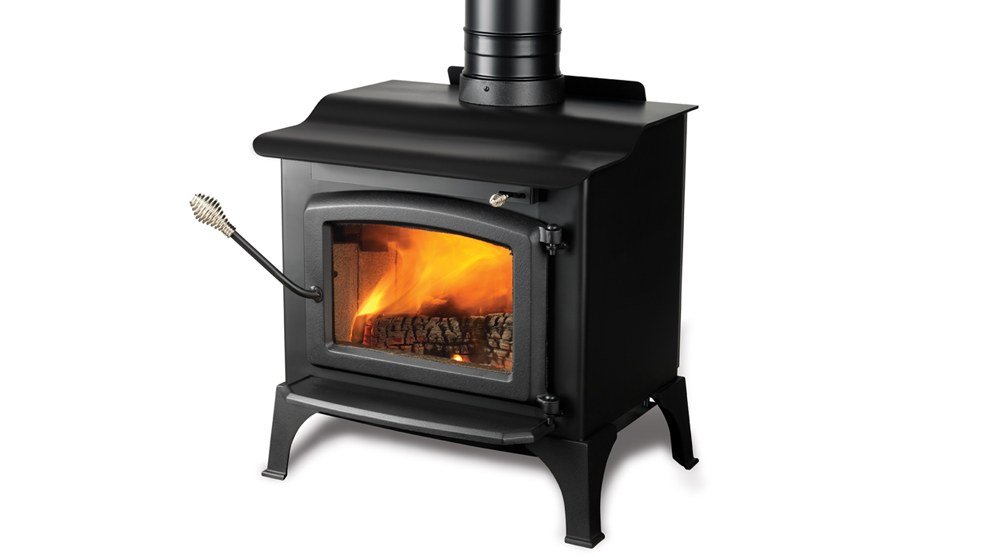 Majestic Windsor Wood Burning Plate Steel Stove