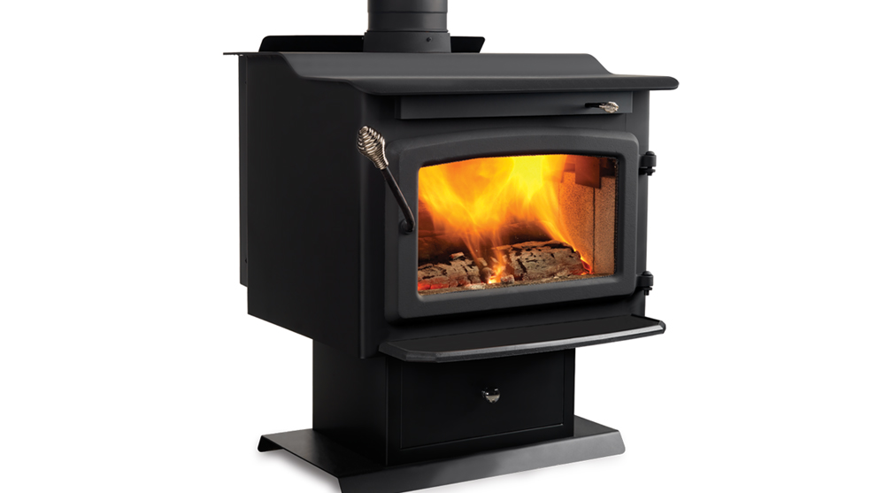 Majestic Windsor Wood Burning Plate Steel Stove