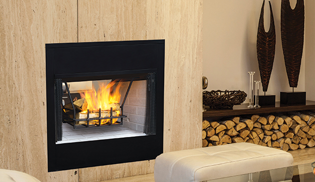Superior WRT35 Pro Series See Through Wood Burning Fireplaces