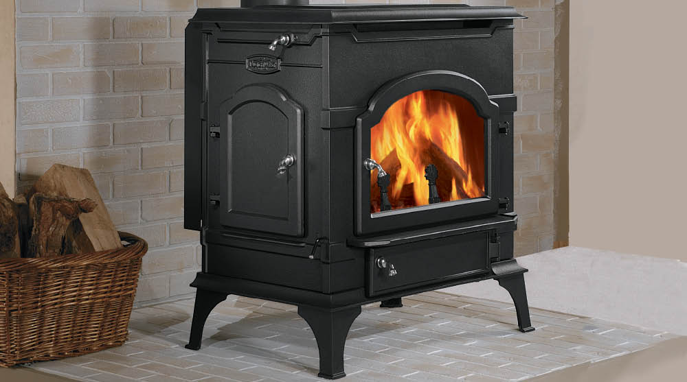 Dutchwest Non-Catalytic Cast Wood Stove