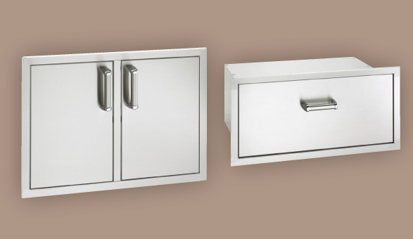 Fire Magic Flush Mount Doors and Drawers