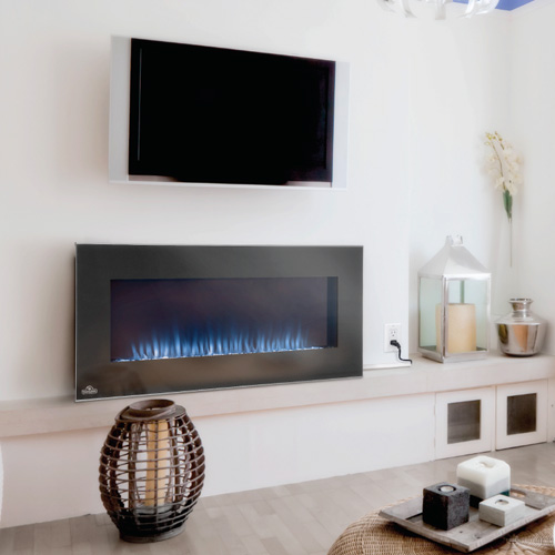 Napoleon Azure 42 Built In Wall Mount Electric Fireplace