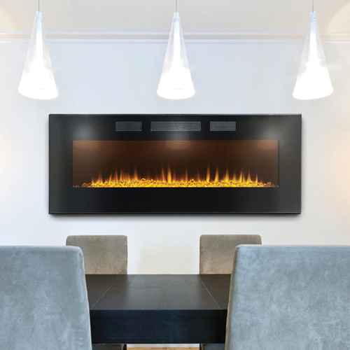 Napoleon Azure 50 Built In Wall Mount Electric Fireplace