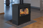 Supreme Vision See-Through EPA Wood Stove