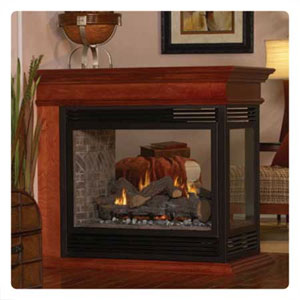 Multi Sided Direct Vent Fireplaces