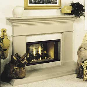 Vantage hearth multi view b vent fireplaces for Vantage hearth