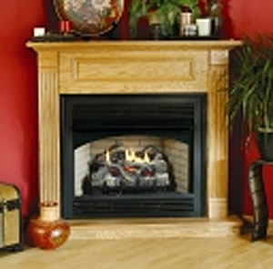 Vent free fireplaces for Vantage hearth