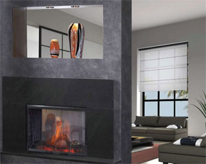 Heatnglo electric fireplaces see thru electric fireplaces teraionfo
