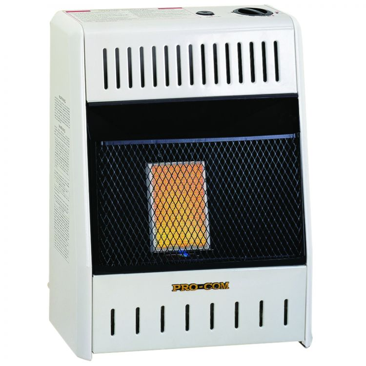 ProCom Infrared Vent Free Gas Heaters