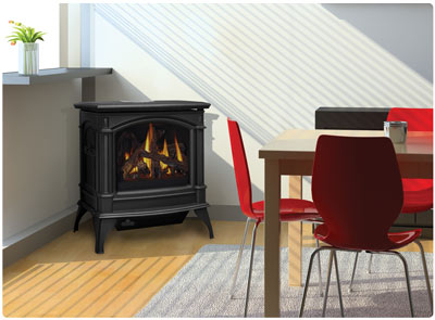 Napoleon Vent Free Cast Iron Gas Stoves - Vent Free Gas Stoves