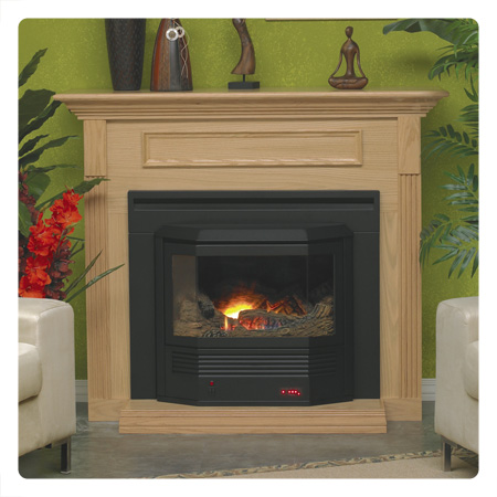Mantis high efficient fireplace system mantis bay window fireplace and mantel package teraionfo