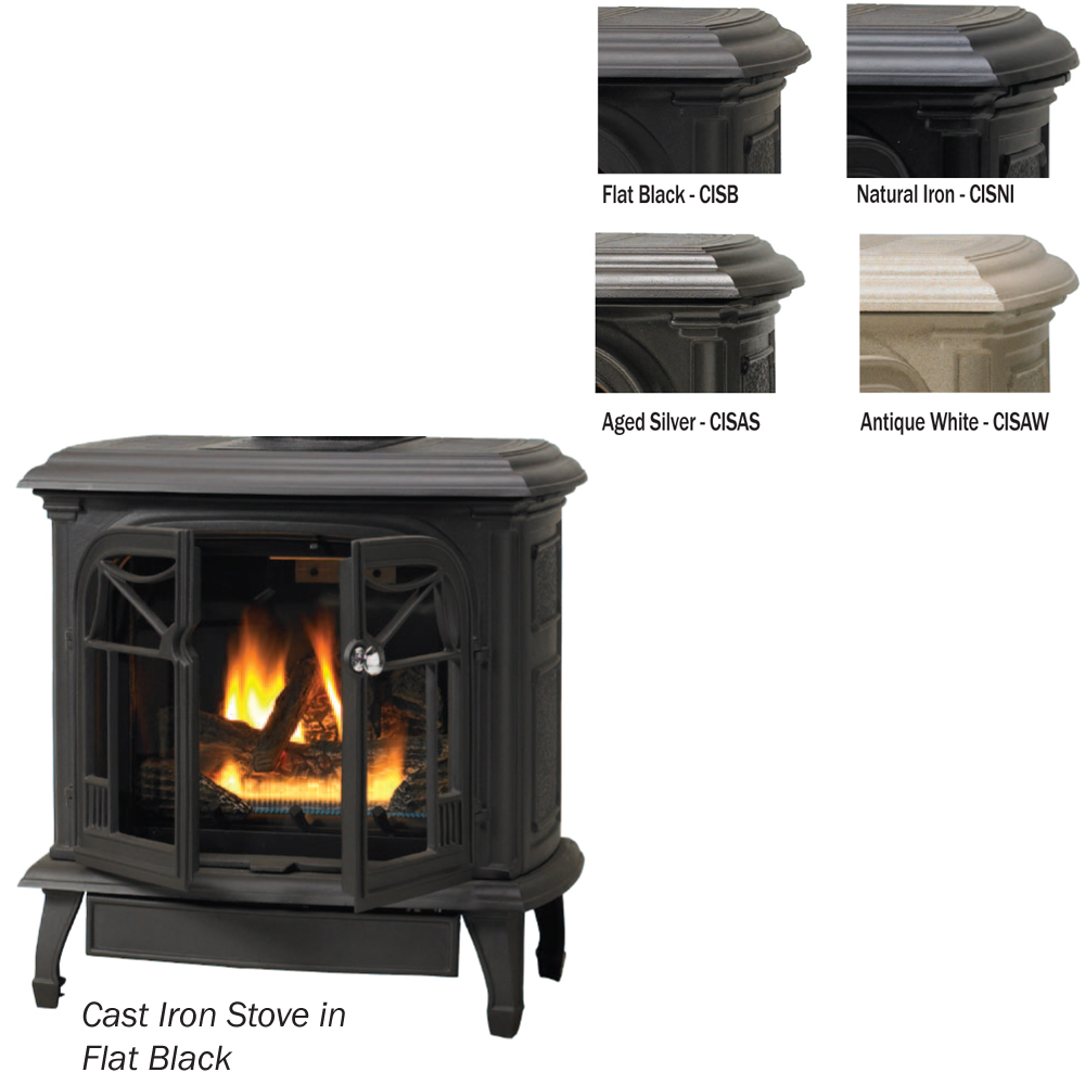 Vantage Hearth Direct Vent Cast Iron Stoves