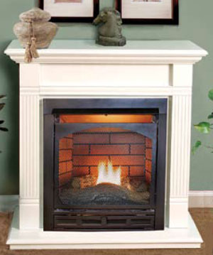Vantage hearth vent free fireplaces for Vantage hearth