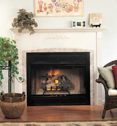 Vantage hearth performance wood fireplaces for Vantage hearth