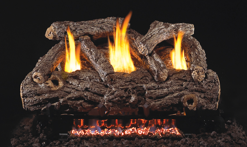 peterson real fyre vent free gas log sets rh hearthsidedistributors com  peterson fireplace log sets