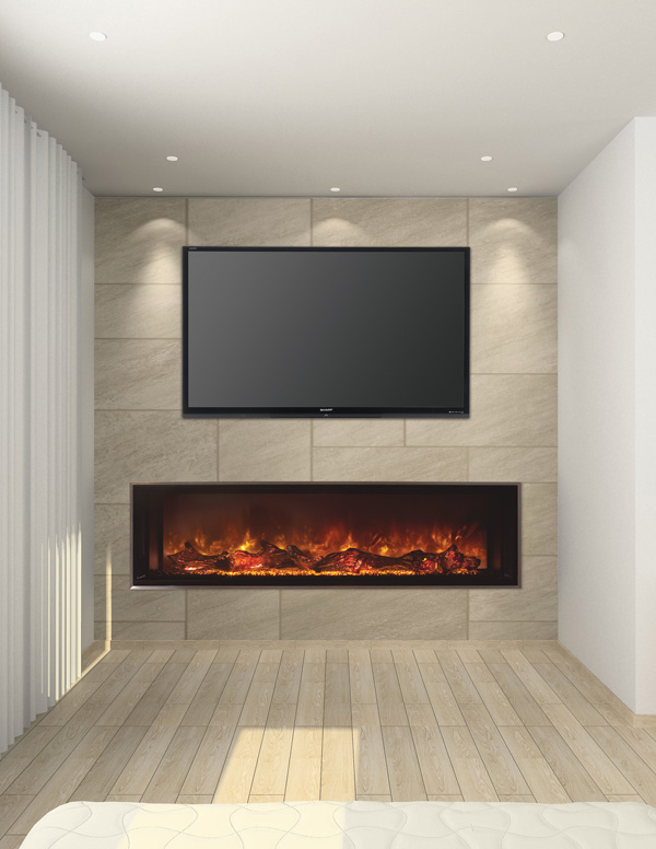 Modern Flames Landscape Full View Fireplaces
