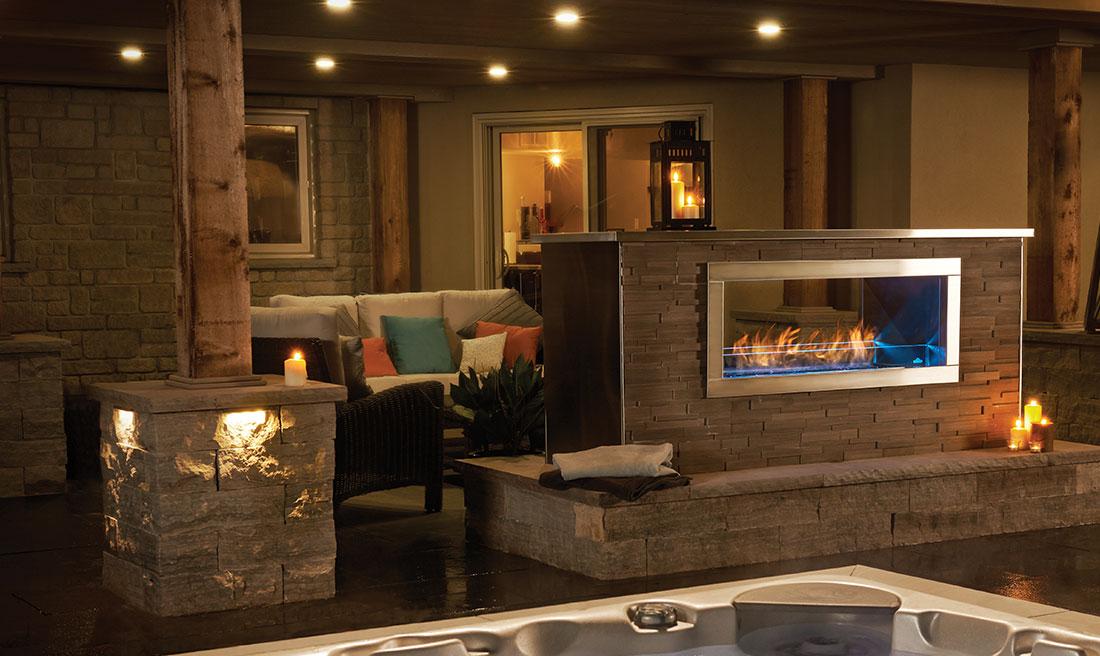 Napoleon Outdoor Fireplaces