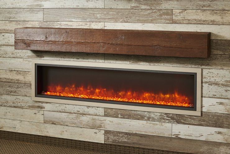 Outdoor Great Room Non-Combustible Cast Mantels
