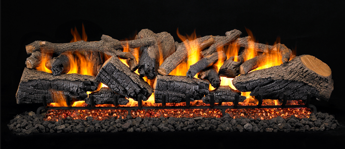 Peterson Real Fyre Large Size Gas Log Sets